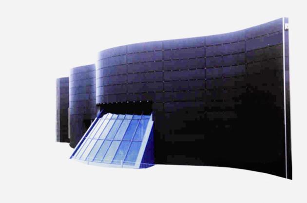 polyfaser budynek